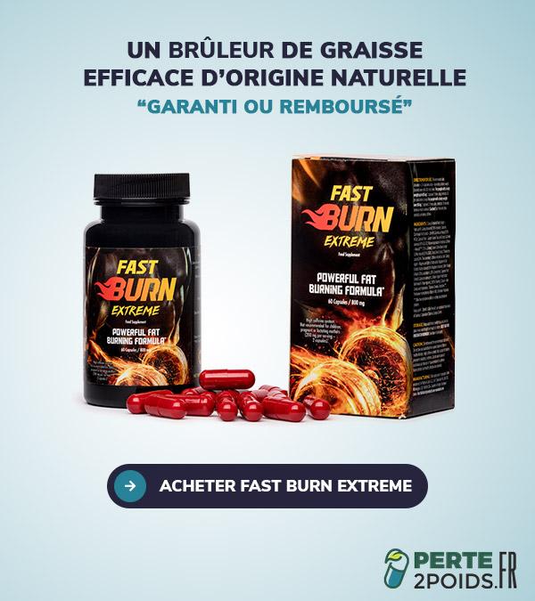 acheter fast burn extreme
