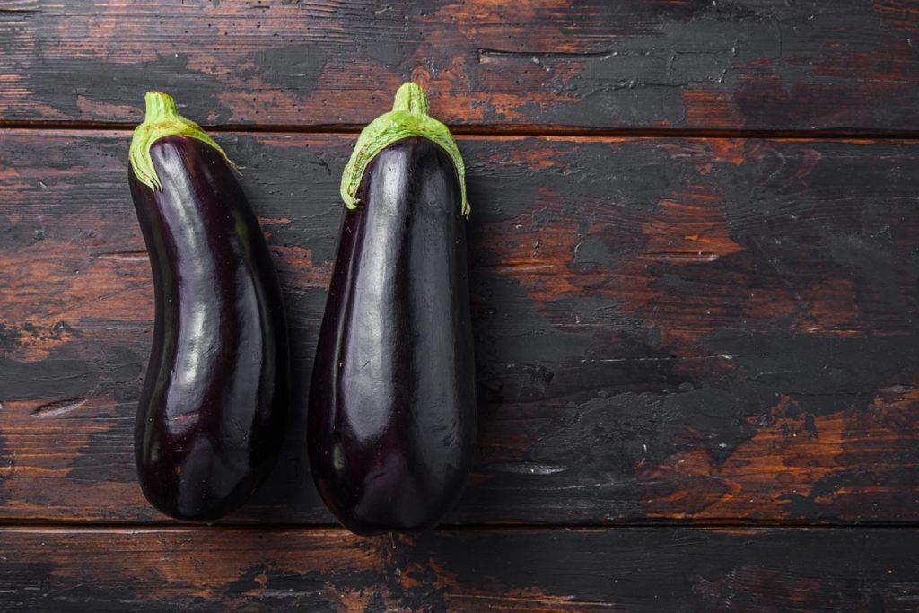 aubergine brûle graisse