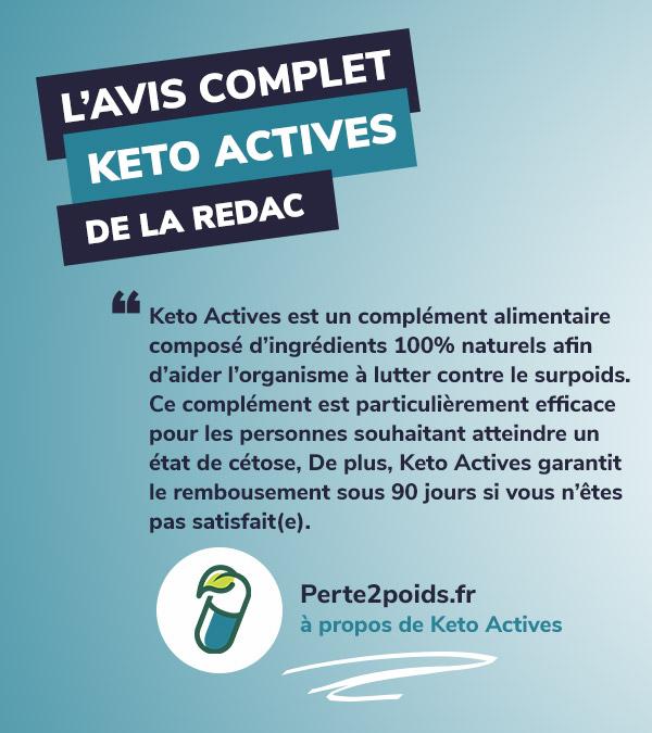 Avis Keto Actives