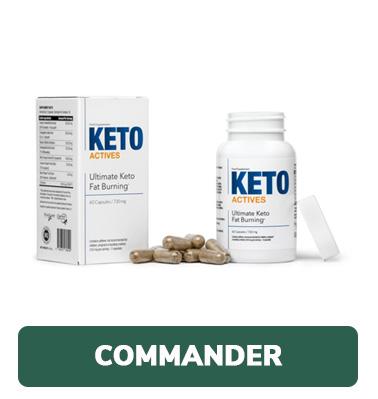 commander Keto Actives