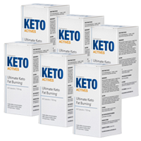 Keto Actives 6 bouteilles