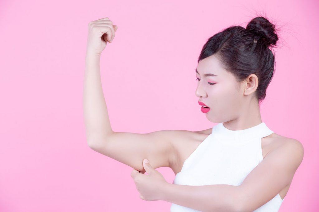 perdre graisse des bras
