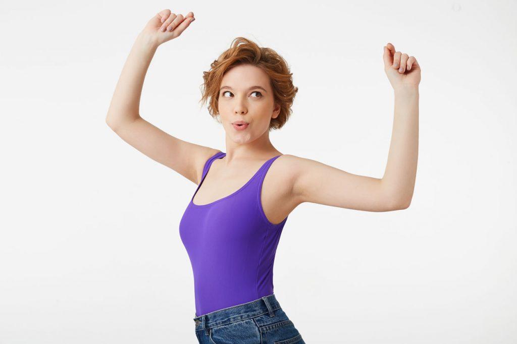 perdre gras des bras