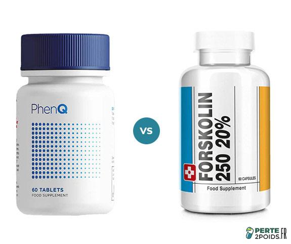 Forskolin 250 vs PhenQ