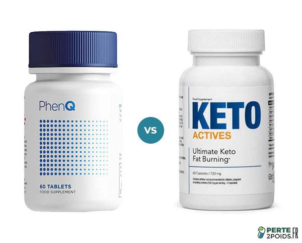 PhenQ vs Keto Actives